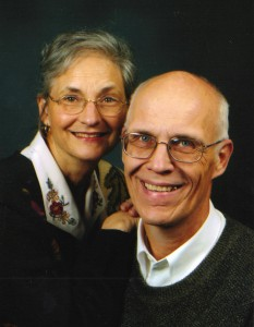 Associate Pastor Richard Paasch and Lee Ann