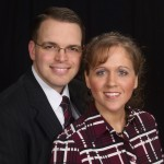 Pastor Chapman & his wife Sarah